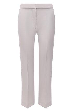 Женские шерстяные брюки STELLA MCCARTNEY светло-серого цвета, арт. 529866/SPA28 | Фото 1