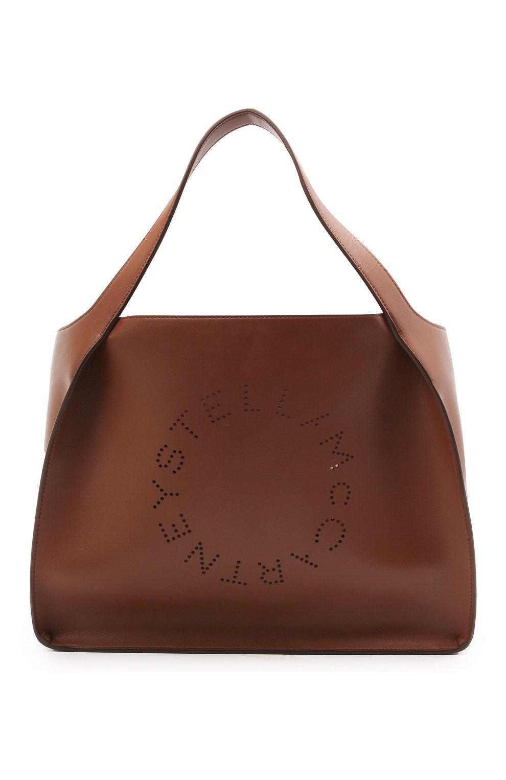 Женский сумка stella logo STELLA MCCARTNEY коричневого цвета, арт. 502793/W8542 | Фото 1