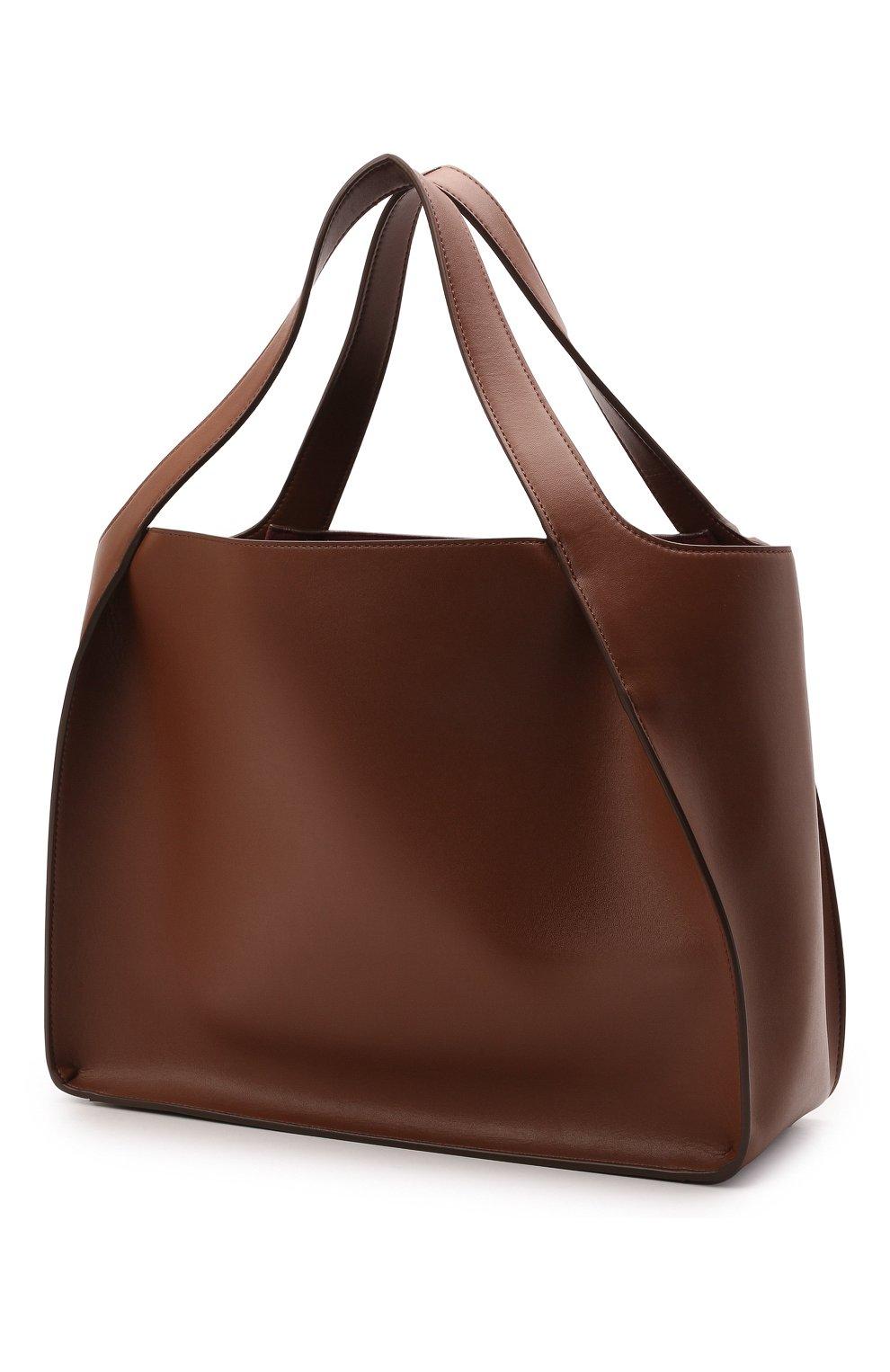 Женский сумка stella logo STELLA MCCARTNEY коричневого цвета, арт. 502793/W8542 | Фото 3