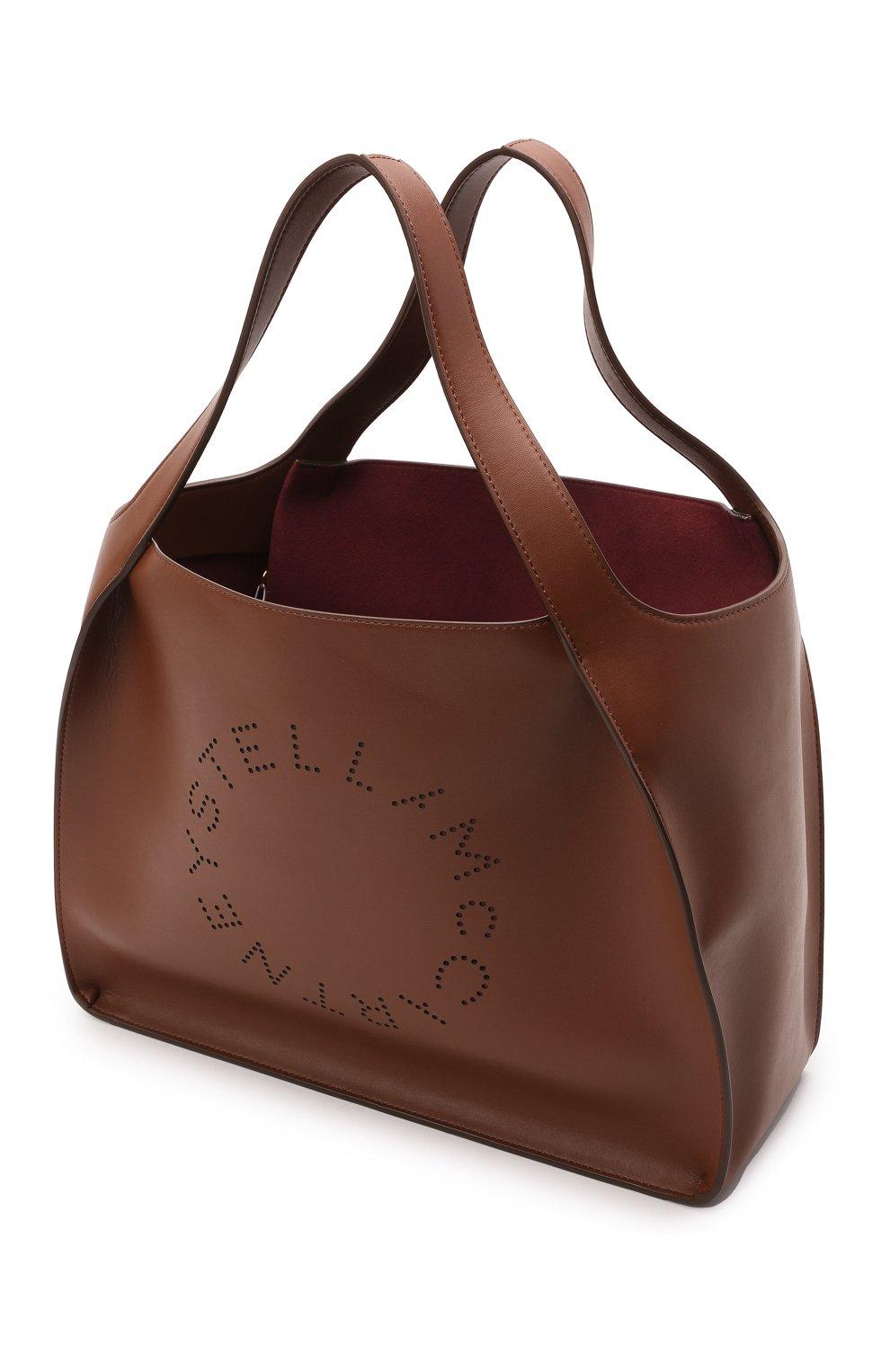 Женский сумка stella logo STELLA MCCARTNEY коричневого цвета, арт. 502793/W8542 | Фото 4