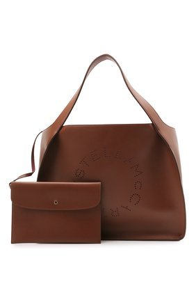 Женский сумка stella logo STELLA MCCARTNEY коричневого цвета, арт. 502793/W8542 | Фото 5