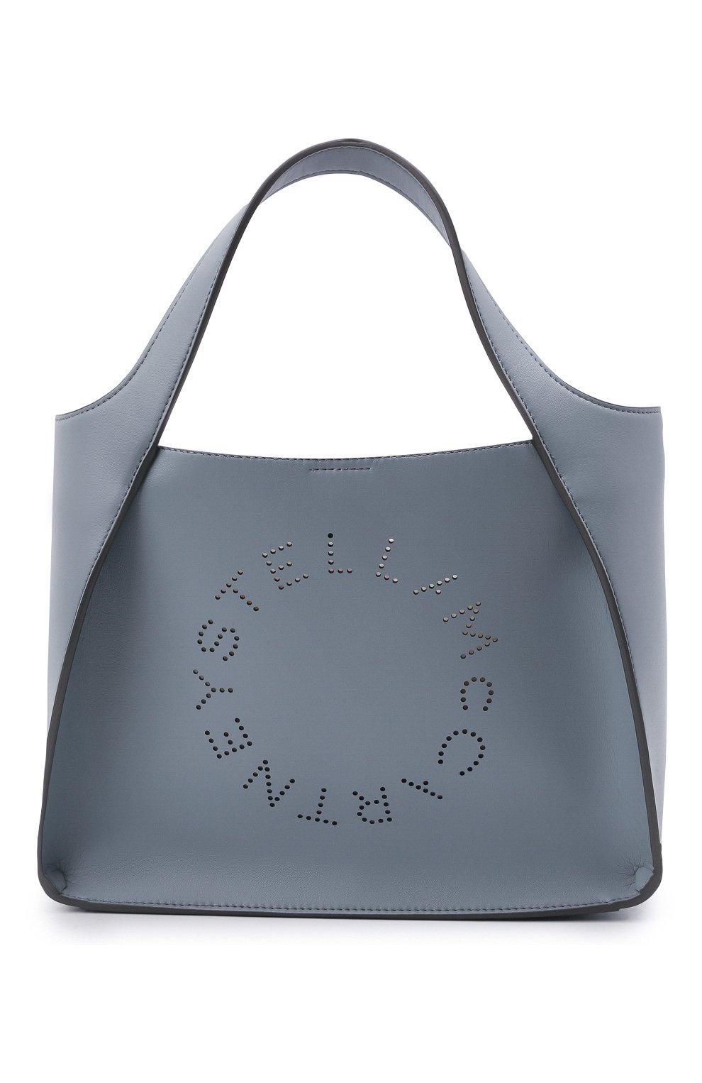 Женский сумка stella logo STELLA MCCARTNEY голубого цвета, арт. 513860/W8542 | Фото 1