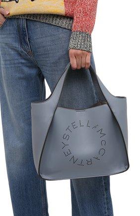 Женский сумка stella logo STELLA MCCARTNEY голубого цвета, арт. 513860/W8542 | Фото 2