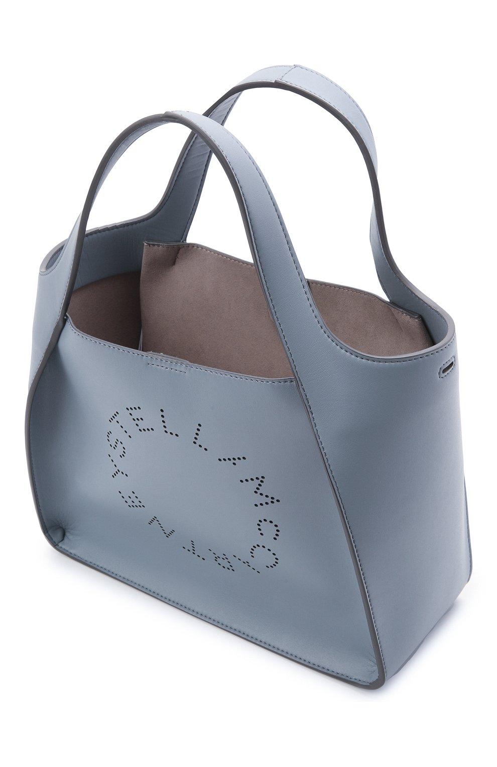 Женский сумка stella logo STELLA MCCARTNEY голубого цвета, арт. 513860/W8542 | Фото 4