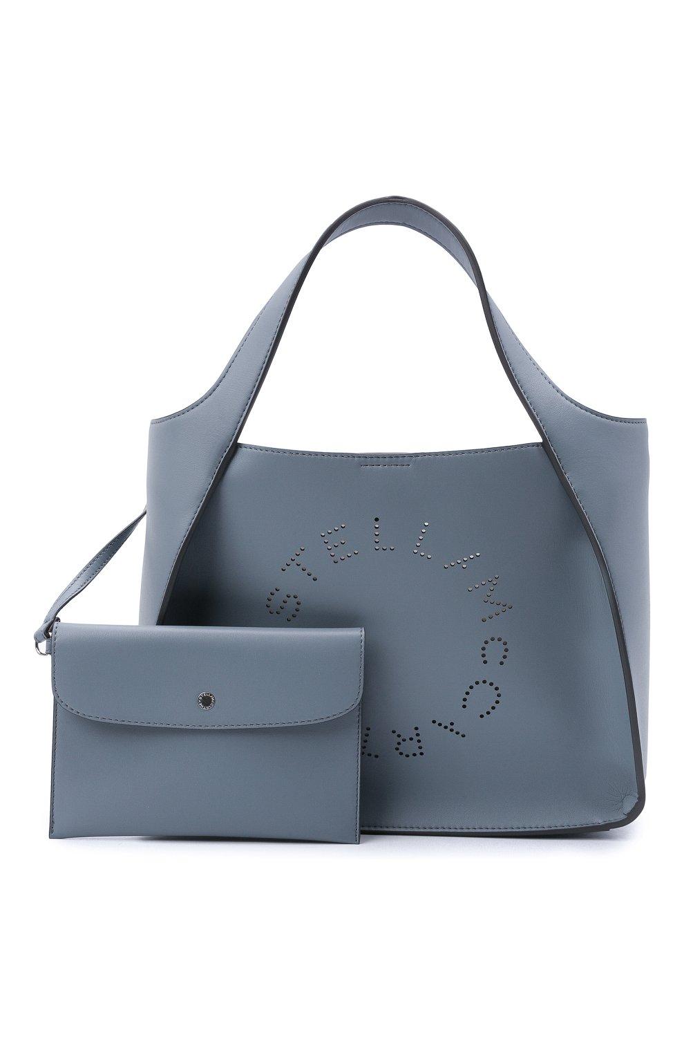 Женский сумка stella logo STELLA MCCARTNEY голубого цвета, арт. 513860/W8542 | Фото 5