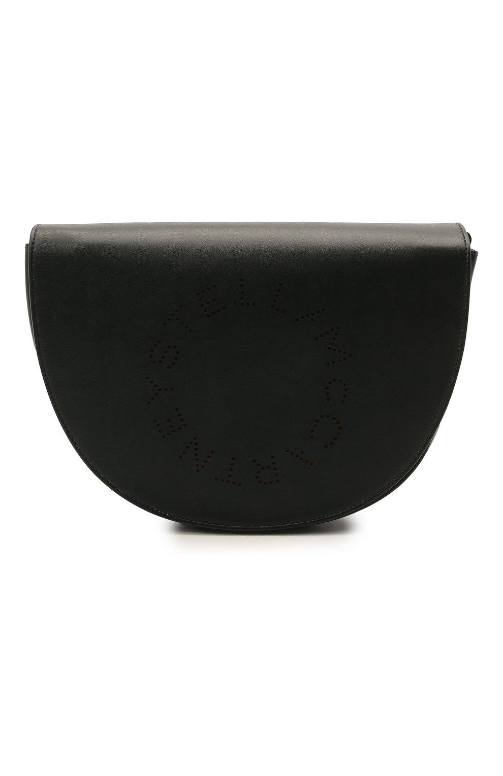 Женская сумка stella logo STELLA MCCARTNEY черного цвета, арт. 700082/W8542   Фото 1