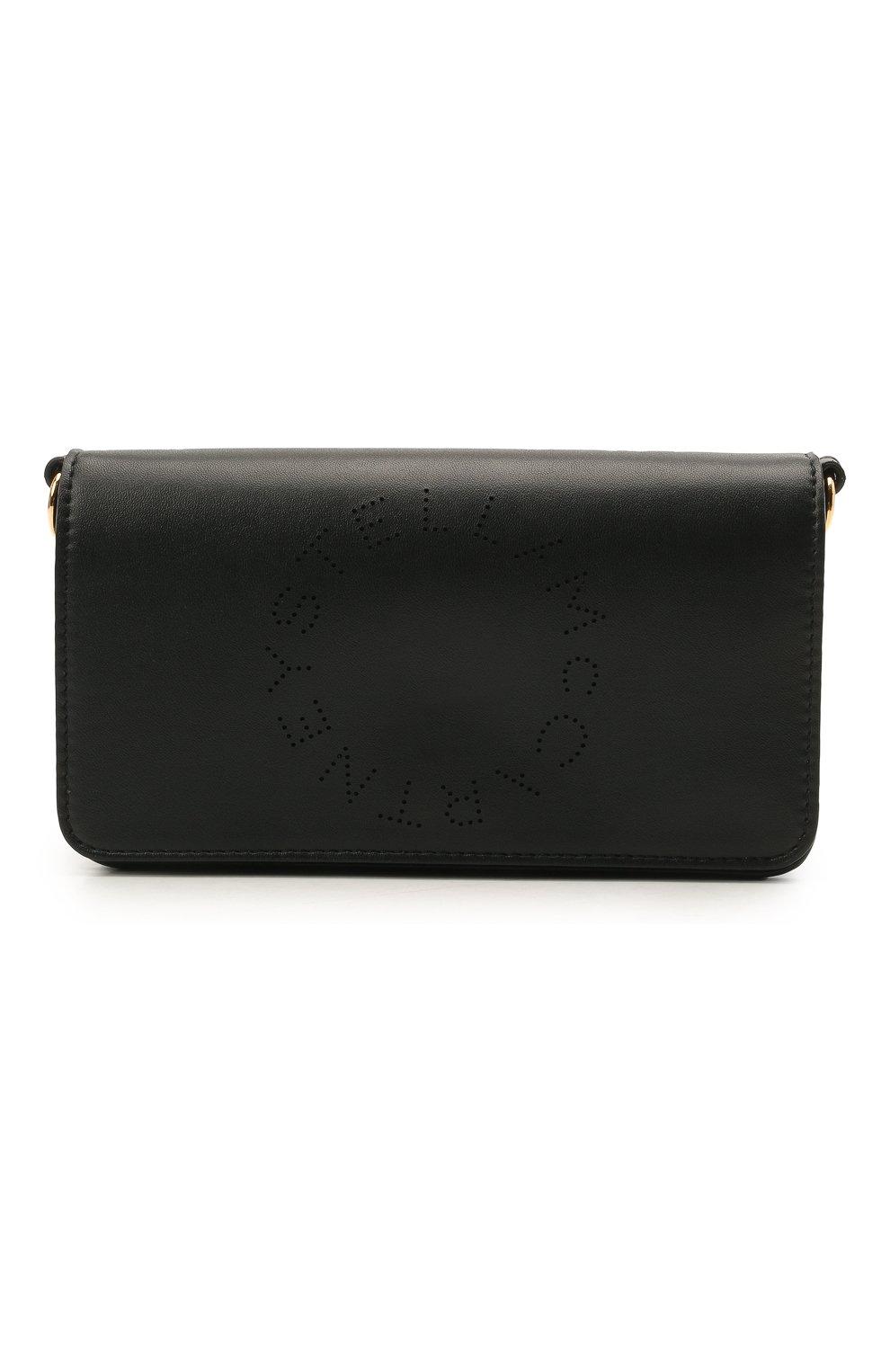 Женская сумка stella logo mini STELLA MCCARTNEY черного цвета, арт. 700134/W8542 | Фото 1