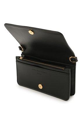 Женская сумка stella logo mini STELLA MCCARTNEY черного цвета, арт. 700134/W8542 | Фото 4