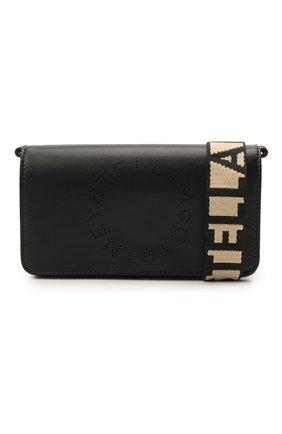Женская сумка stella logo mini STELLA MCCARTNEY черного цвета, арт. 700134/W8542 | Фото 6