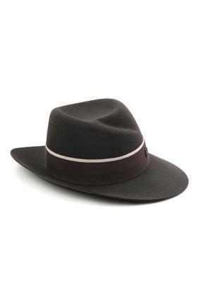 Женская шляпа virginie MAISON MICHEL темно-серого цвета, арт. 1001150003/VIRGINIE | Фото 1