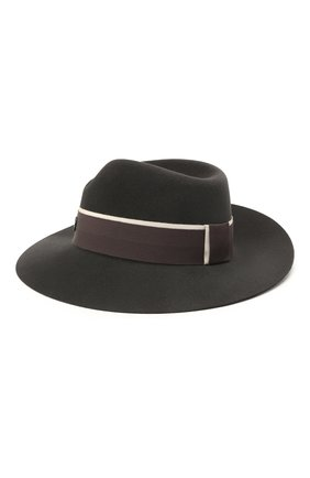 Женская шляпа virginie MAISON MICHEL темно-серого цвета, арт. 1001150003/VIRGINIE | Фото 2