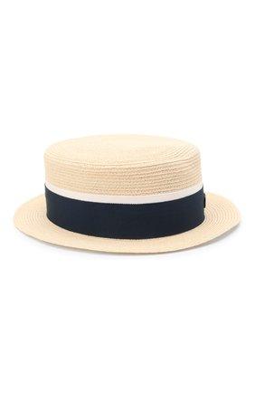 Женская шляпа auguste MAISON MICHEL светло-бежевого цвета, арт. 1011021002/AUGUSTE | Фото 1