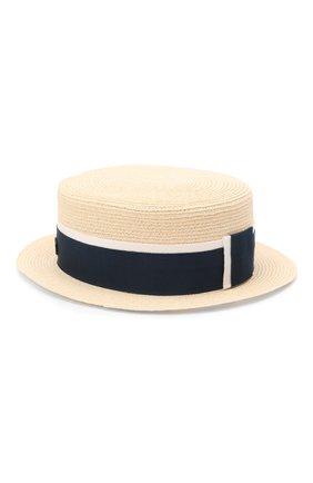 Женская шляпа auguste MAISON MICHEL светло-бежевого цвета, арт. 1011021002/AUGUSTE | Фото 2