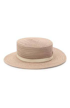 Женская шляпа kiki MAISON MICHEL бежевого цвета, арт. 1041082001/KIKI | Фото 1