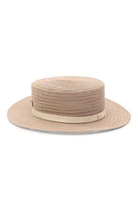 Женская шляпа kiki MAISON MICHEL бежевого цвета, арт. 1041082001/KIKI | Фото 2