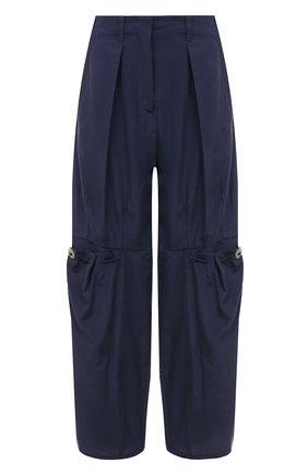 Женские брюки GIORGIO ARMANI синего цвета, арт. 1SHPP0GH/T02AW | Фото 1