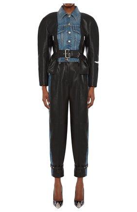 Женская куртка ALEXANDER MCQUEEN разноцветного цвета, арт. 659801/Q5AF4 | Фото 1