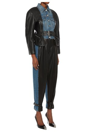Женская куртка ALEXANDER MCQUEEN разноцветного цвета, арт. 659801/Q5AF4 | Фото 2