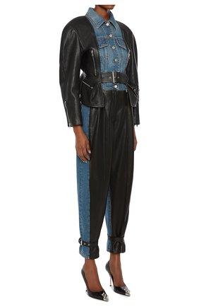 Женские брюки ALEXANDER MCQUEEN разноцветного цвета, арт. 659807/Q5AF5 | Фото 2