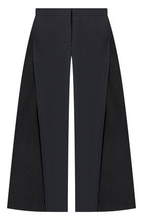 Женские шерстяные брюки LOEWE черного цвета, арт. S540Y04X31/ | Фото 1