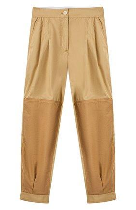 Женские хлопковые брюки LOEWE бежевого цвета, арт. S540Y04X33/ | Фото 1