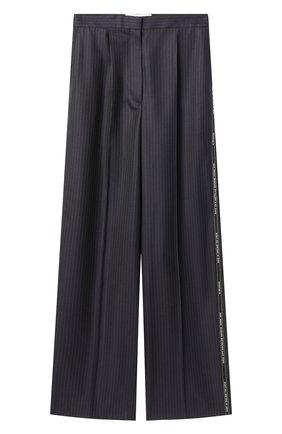Женские шерстяные брюки LOEWE черного цвета, арт. S540Y04X35/ | Фото 1