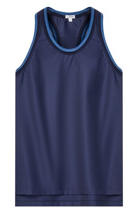 Женский шерстяной топ LOEWE темно-синего цвета, арт. S540Y07X31/ | Фото 1