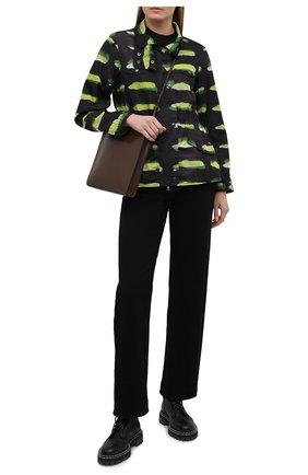 Женская ветровка DRIES VAN NOTEN черного цвета, арт. 211-10530-2134 | Фото 2