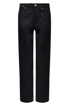 Женские джинсы DRIES VAN NOTEN синего цвета, арт. 211-12413-2376 | Фото 1