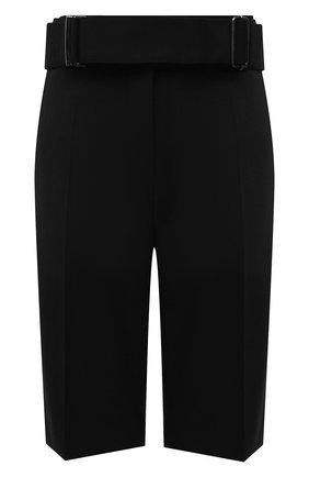 Женские шорты DRIES VAN NOTEN черного цвета, арт. 211-10907-2031 | Фото 1