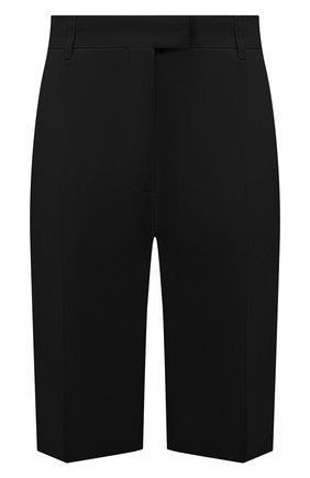 Женские шорты из хлопка и вискозы DRIES VAN NOTEN черного цвета, арт. 211-10906-2109 | Фото 1