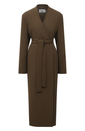 Женское пальто THE FRANKIE SHOP хаки цвета, арт. C0 0F0 KR 09 | Фото 1