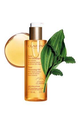 Женского очищающее масло для любого типа кожи huile tres demaquillante CLARINS бесцветного цвета, арт. 80062048 | Фото 2