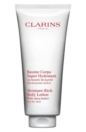 Женского увлажняющий бальзам для тела baume corps super hydratant  CLARINS бесцветного цвета, арт. 80076239 | Фото 1