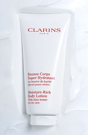 Женского увлажняющий бальзам для тела baume corps super hydratant  CLARINS бесцветного цвета, арт. 80076239 | Фото 2