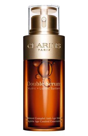 Женская комплексная омолаживающая двойная сыворотка double serum CLARINS бесцветного цвета, арт. 80071846 | Фото 1