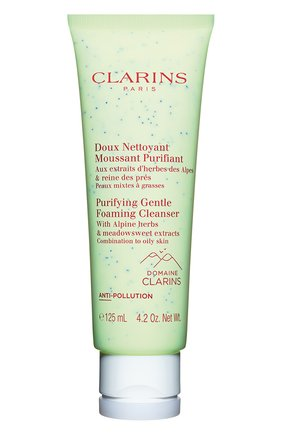 Очищающий пенящийся крем для комбинированной и жирной кожи CLARINS бесцветного цвета, арт. 80071906 | Фото 1
