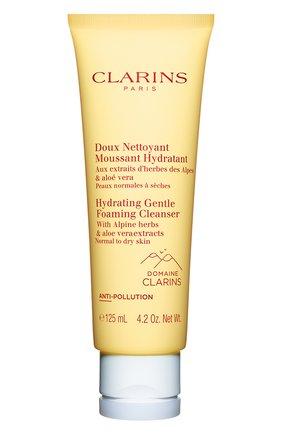 Женского очищающий пенящийся крем для нормальной и сухой кожи CLARINS бесцветного цвета, арт. 80071907 | Фото 1