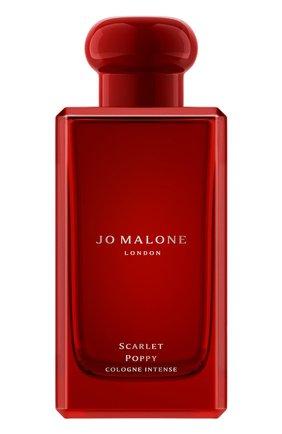 Одеколон scarlet poppy cologne intense JO MALONE LONDON бесцветного цвета, арт. LEG3-01 | Фото 1