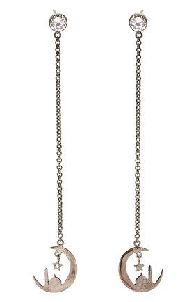 Женские серьги gather luck DZHANELLI серебряного цвета, арт. 0369 | Фото 1