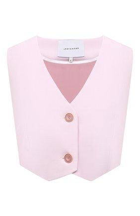 Женский жилет LESYANEBO светло-розового цвета, арт. SS21/Н-575 | Фото 1