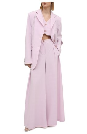 Женский жилет LESYANEBO светло-розового цвета, арт. SS21/Н-575 | Фото 2