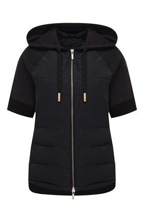 Женская куртка LORENA ANTONIAZZI черного цвета, арт. P2142PI009/3187   Фото 1
