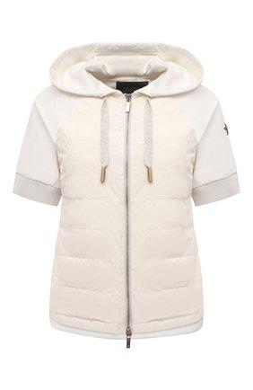 Женская куртка LORENA ANTONIAZZI белого цвета, арт. P2142PI009/3187 | Фото 1