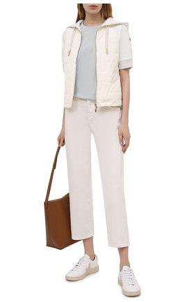 Женская куртка LORENA ANTONIAZZI белого цвета, арт. P2142PI009/3187 | Фото 2
