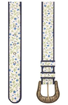 Женский ремень VIVETTA голубого цвета, арт. 21E V2M1/6611/6932 | Фото 2