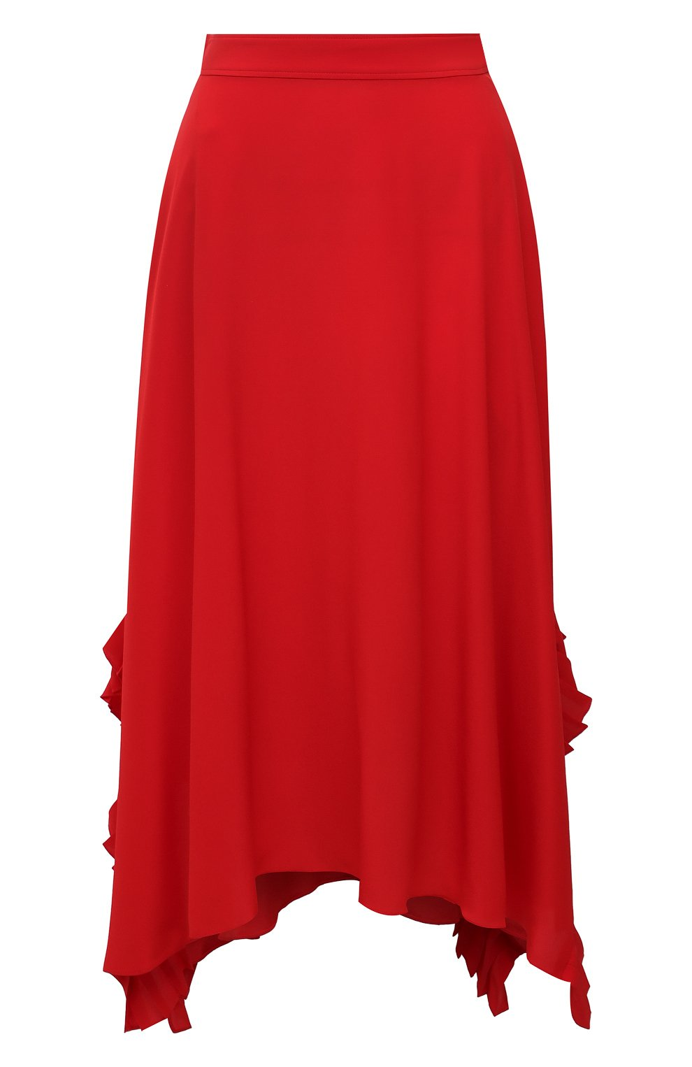 Женская шелковая юбка STELLA MCCARTNEY красного цвета, арт. 602927/SY206   Фото 1