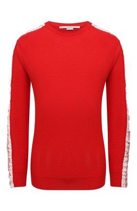 Женский шерстяной пуловер STELLA MCCARTNEY красного цвета, арт. 575384/S2235 | Фото 1