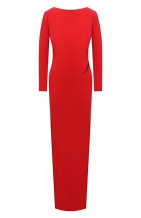 Женское шелковое платье TOM FORD красного цвета, арт. AB2999-FAX230 | Фото 1