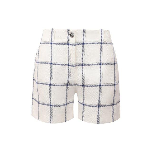 Льняные шорты Giorgio Armani
